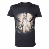 ASSASSIN'S CREED SYNDICATE - T-Shirt Black Crest Britisch Flag (S)