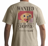 ONE PIECE - T-Shirt Basic Homme Wanted Chopper (L)