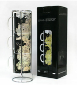GAME OF THRONES - Westeros Map 3 Stackable Ceramic Mug