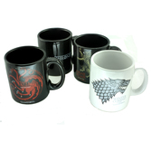 GAME OF THRONES - Set de 4 Tasses Espresso Mugs