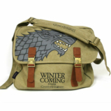 GAME OF THRONES - Messenger Bag - Stark Canvas