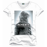 STAR WARS - T-Shirt Chewie - White (M)