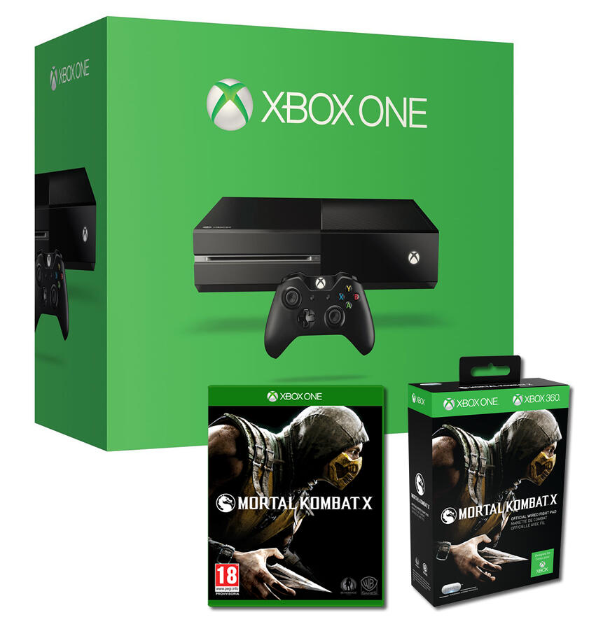 xbox one 500 go mortal kombat x manette mortal kombat x acheter vendre sur r f rence gaming. Black Bedroom Furniture Sets. Home Design Ideas