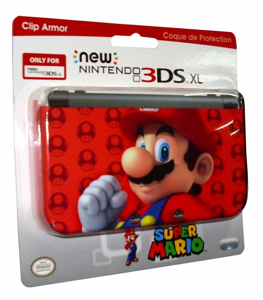 Coque new 3ds xl mario pdp acheter vendre sur for Coque 3ds xl pokemon