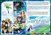 SWORD ART ONLINE - ARC 2 - Edition Gold (3 DVD + Livret) - DVD
