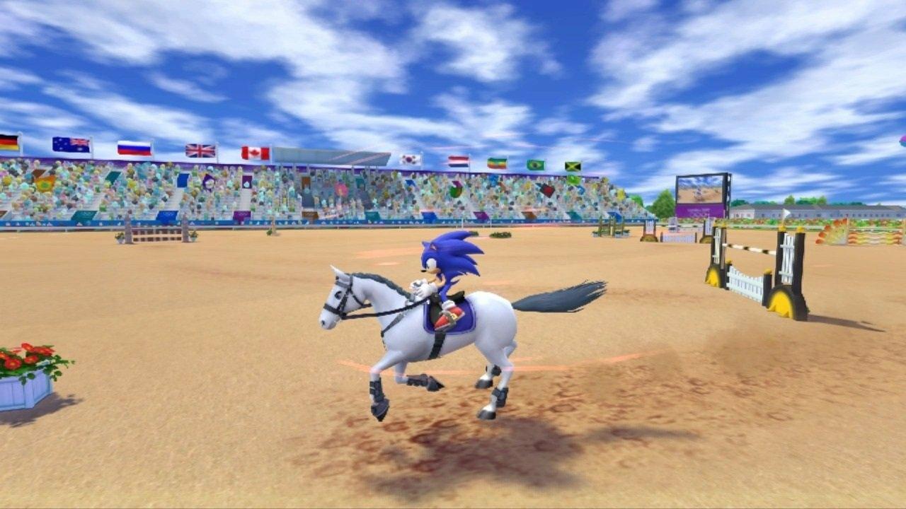 Mario Sonic Aux Jeux Olympiques De Londres 2012 3ds