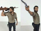 Figurine Rick Grimes édition deluxe The Walking Dead - 25cm