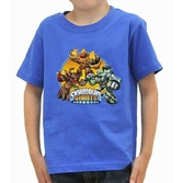 SKYLANDERS GIANTS - T-Shirt Kids Bleu (5/6 ans)