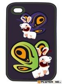 LAPINS CRETINS - Coque Iphone 4/4S : Spyco Bee