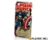 PDP - MOBILE - Marvel Capt. America Newsletter Clip Case IPod Touch 4