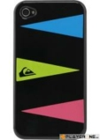 QUIKSILVER - Hard Case Iphone 4/4S : Graphic Black Triple Layers