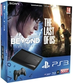 Console PS3 Ultra Slim 500 Go + Beyond Two Souls + Last Of Us