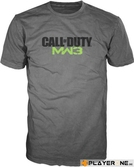 CALL OF DUTY MW3 - T-Shirt Melange - LOGO (XL)