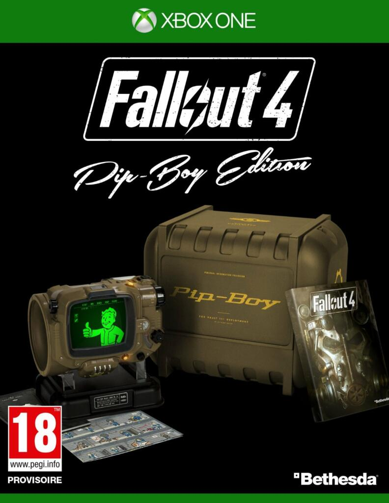 fallout 4 dition collector xbox one acheter vendre sur r f rence gaming. Black Bedroom Furniture Sets. Home Design Ideas