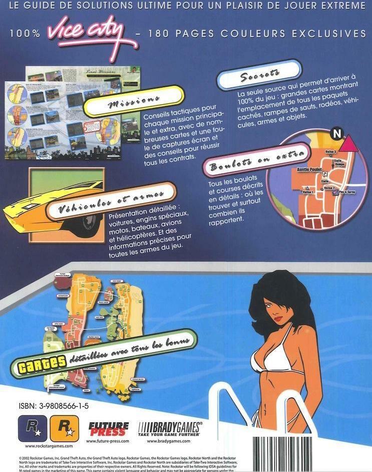 Guide de Soluce GTA Vice City