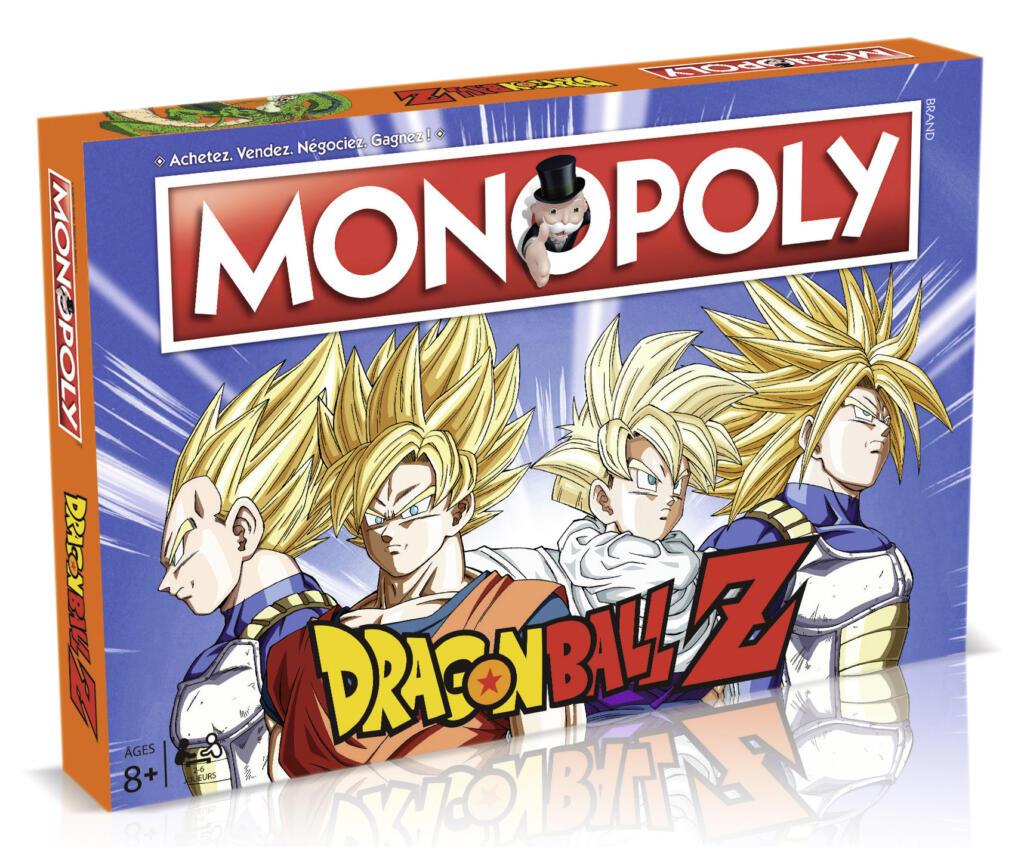 Monopoly dragon ball z acheter vendre sur r f rence gaming - Image de dragon ball z ...