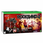 Rock Band 4 + Guitare sans fil + Batterie + Micro - XBOX ONE