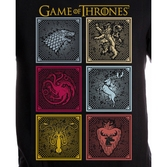 GAME OF THRONES - T-Shirt Badges of the King (XL)