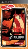 Metal Gear Solid Portable Ops édition essentials - PSP