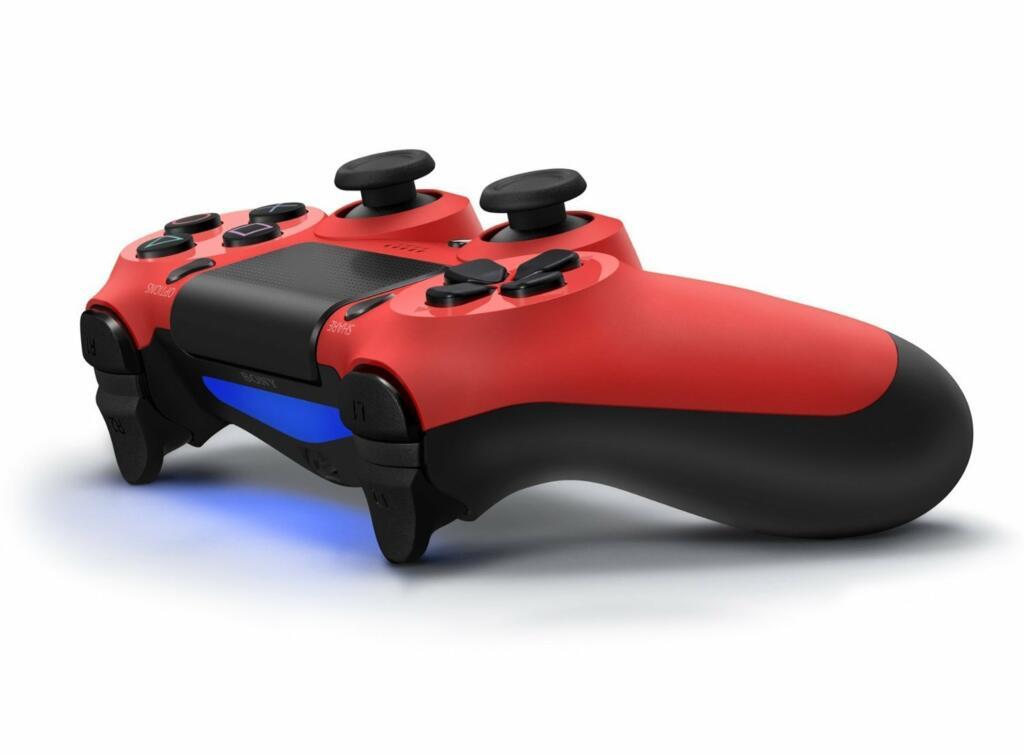 manette dualshock 4 rouge ps4 acheter vendre sur r f rence gaming. Black Bedroom Furniture Sets. Home Design Ideas