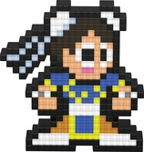 PIXEL PALS Light Up Collectible Figures - Street Fighter - Chun Li