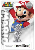 Amiibo Mario (Super Mario Collection) édition Argent
