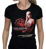 GAME OF THRONES - T-Shirt Mother Of Dragons Femme (M)