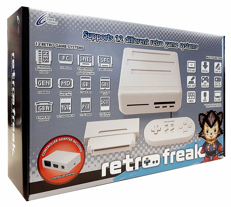 Console Retro Freak Premium - SNES - Megadrive - Game Boy - PC Engine