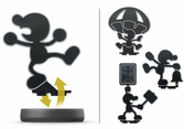 Amiibo Mr. Game & Watch N°45