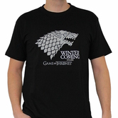 GAME OF THRONES - T-Shirt Winter Is Coming Homme (S)