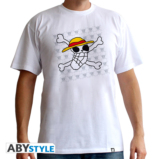 ONE PIECE - T-Shirt Basic Homme  Skull Dessin De Luffy (XXL)