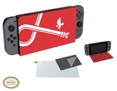 Coque Hybride : Protection d'écran / Stand édition Mario - Switch