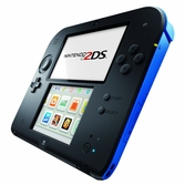 Console 2DS noire & bleue New Super Mario Bros 2
