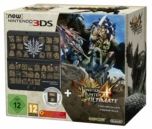 New 3DS Noire + Jeu + Coque Monster Hunter 4