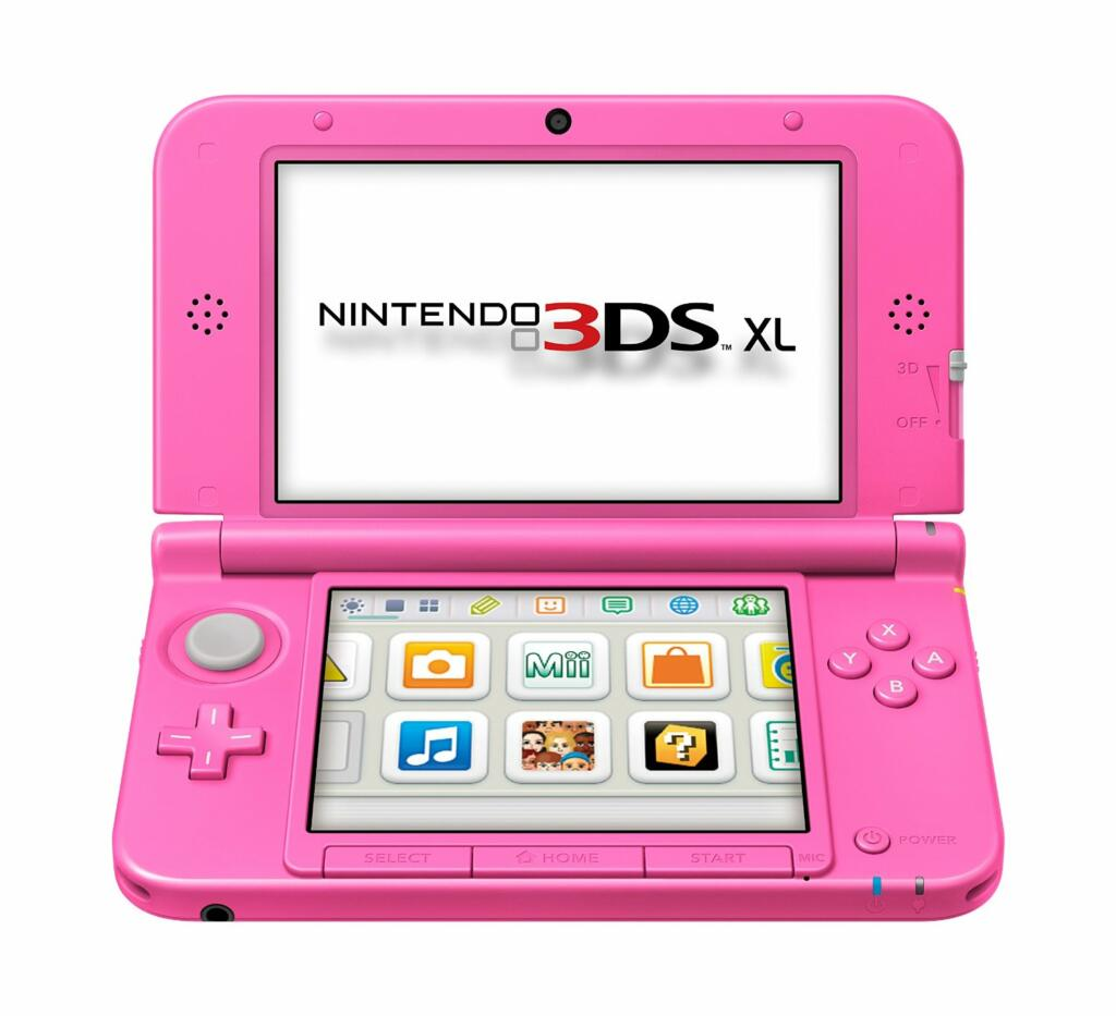 console 3ds xl rose animal crossing new leaf acheter vendre sur r f rence gaming. Black Bedroom Furniture Sets. Home Design Ideas