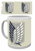 ATTACK ON TITAN - Mug - 300 ml - Badge