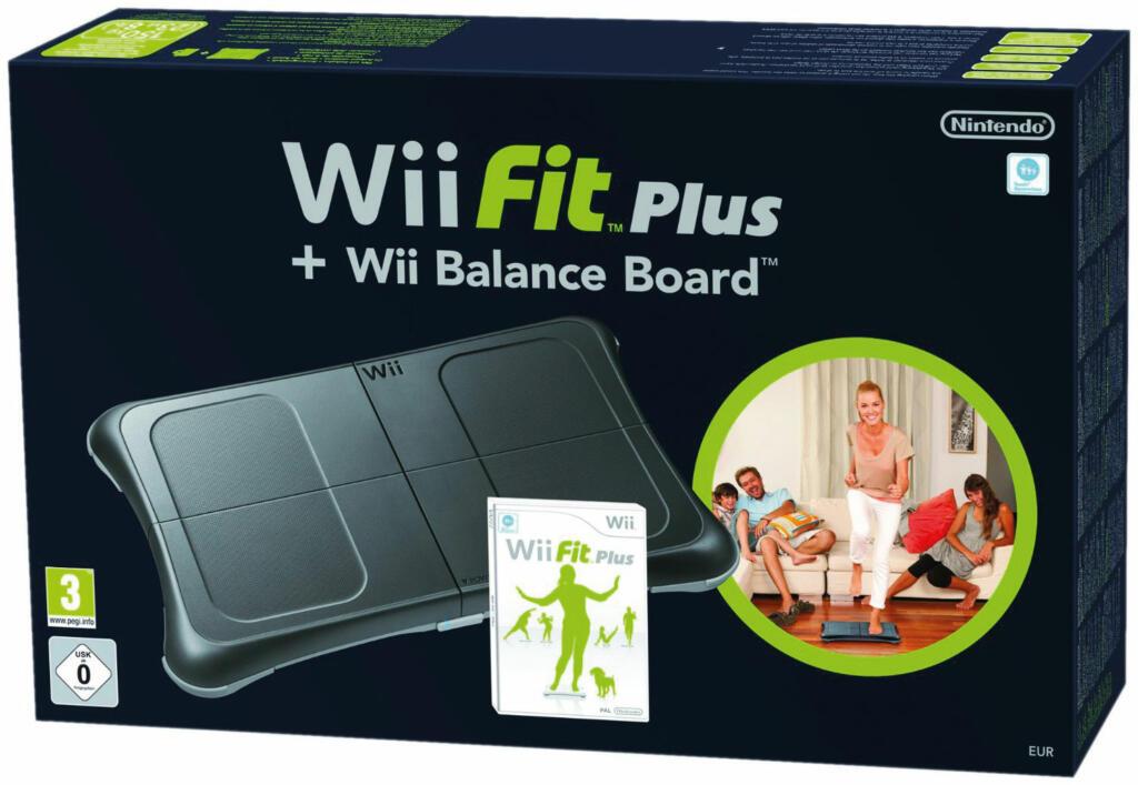 Wii Fit Plus Wii Balance Board Noir Acheter Vendre
