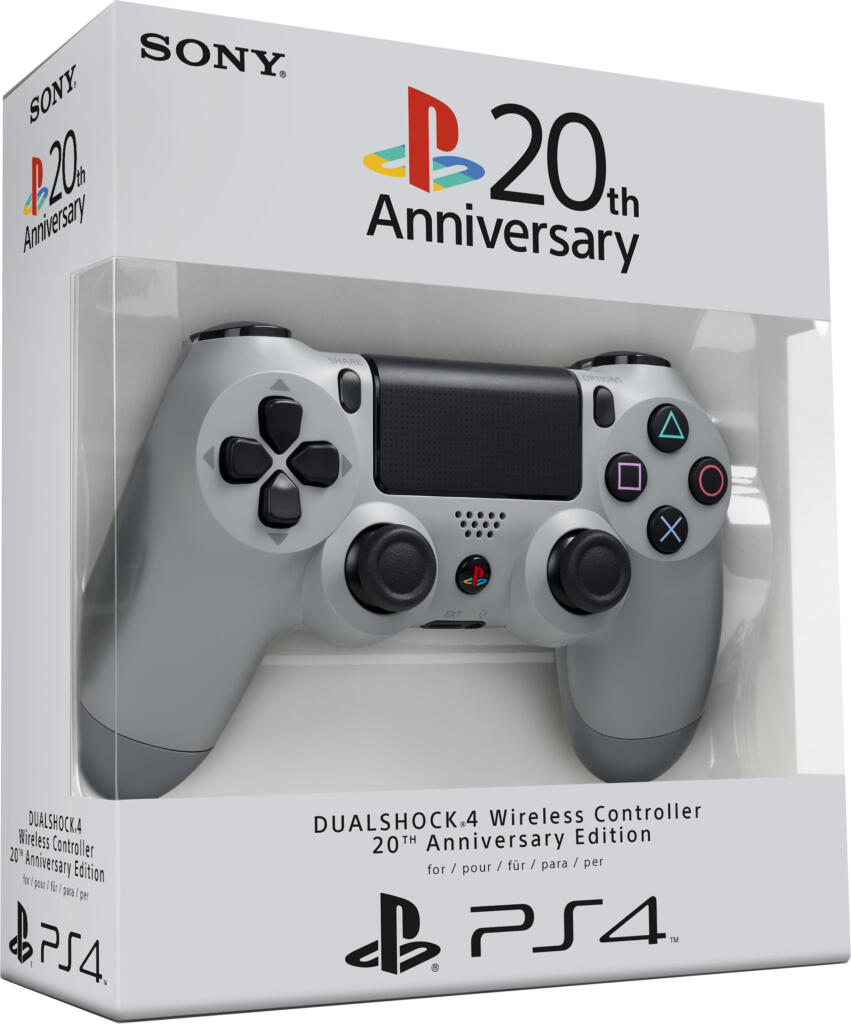 manette dualshock 4 dition 20 me anniversaire ps4 acheter vendre sur r f rence gaming. Black Bedroom Furniture Sets. Home Design Ideas