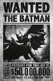 BATMAN - Poster 61X91 - Arkham Origins WANTED