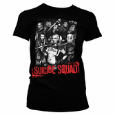 SUICIDE SQUAD - T-Shirt Suicide Theme - GIRLY (XXL)
