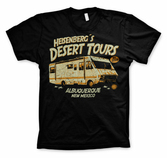 BREAKING BAD - T-Shirt Heisenberg's Desert Tours - Black (XL)