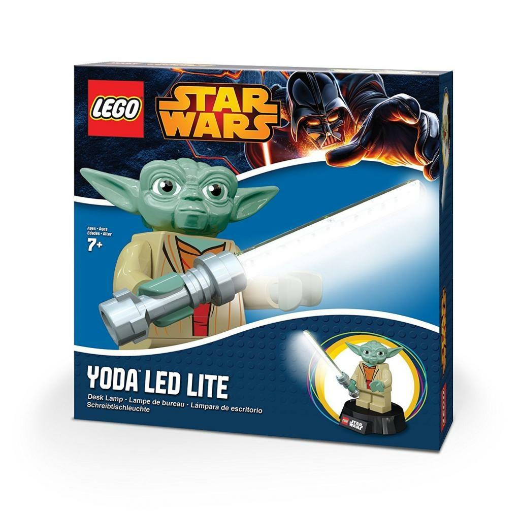 star wars - lego led - lampe usb de bureau yoda • référence gaming