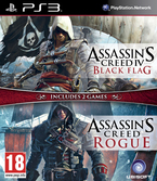 Assassin's Creed Black Flag + Assassin's Creed Rogue - PS3