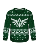 ZELDA - Green Knitted X-Mas Sweater (M)