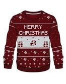NINTENDO - Knitted Merry Christmas Sweater (XL)