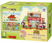 Console New 3DS + Animal Crossing : Happy Home Designer + Coque