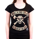 THE WALKING DEAD - T-Shirt Survivor - GIRL (S)