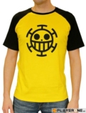 ONE PIECE - T-Shirt PREMIUM Homme Trafalgar Law - Yellow (XL)