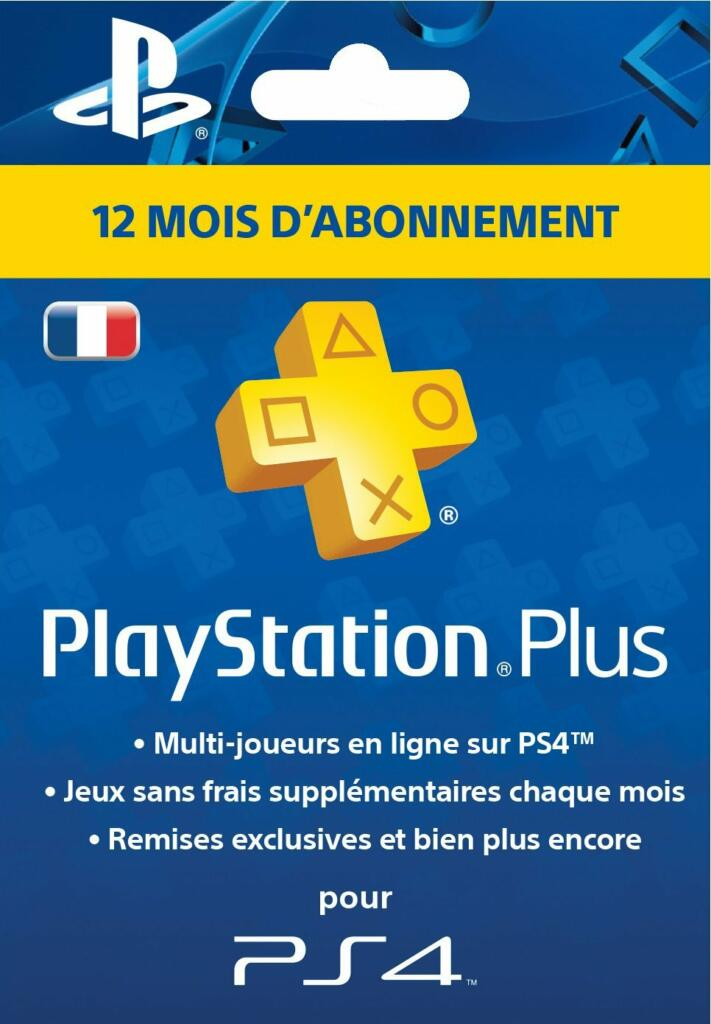 playstation plus livecards abonnement 1 an ps4. Black Bedroom Furniture Sets. Home Design Ideas