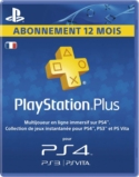PlayStation Plus LiveCards - Abonnement 1 an